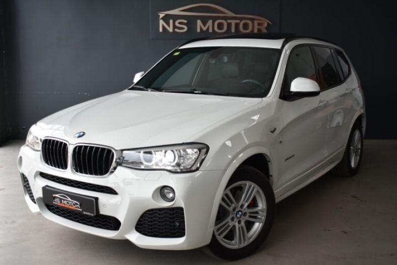 BMW X3 20D XDRIVE 190CV STEPTRONIC PACK M INT Y EXT