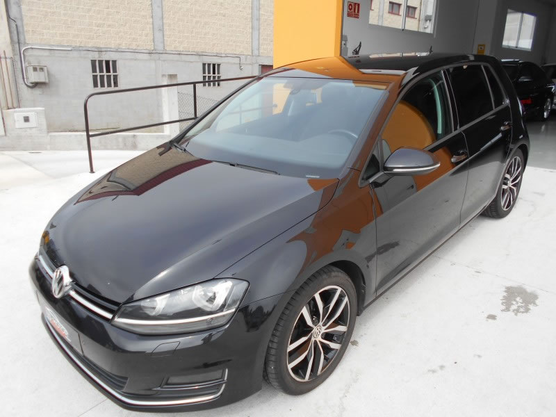 volkswagen golf serie vii sport 2 0 tdi 150cv full equip en venta en ordes por ns motor. Black Bedroom Furniture Sets. Home Design Ideas