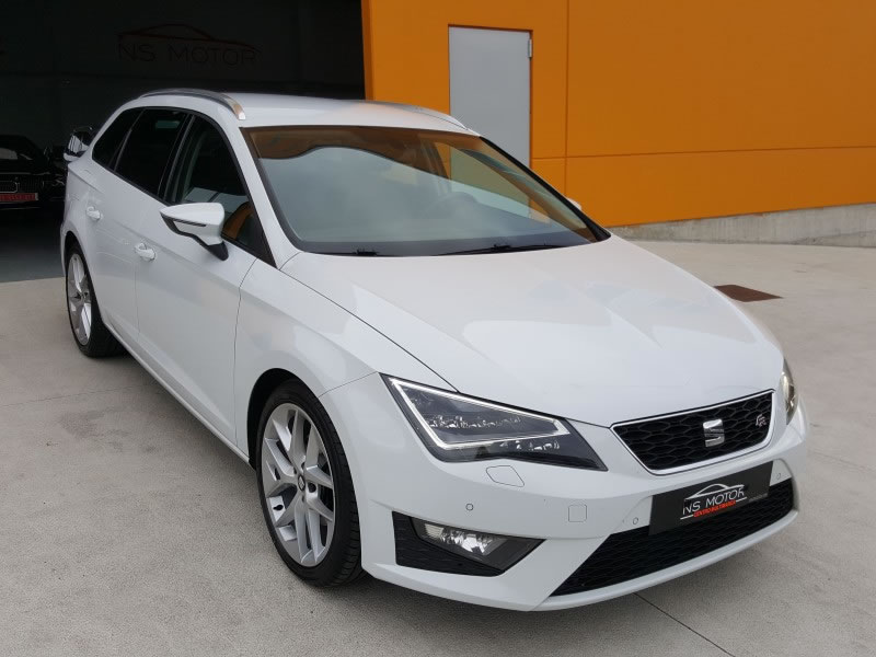 seat leon 5f fr st 2 0 tdi 150cv dsg en venta en ordes por. Black Bedroom Furniture Sets. Home Design Ideas