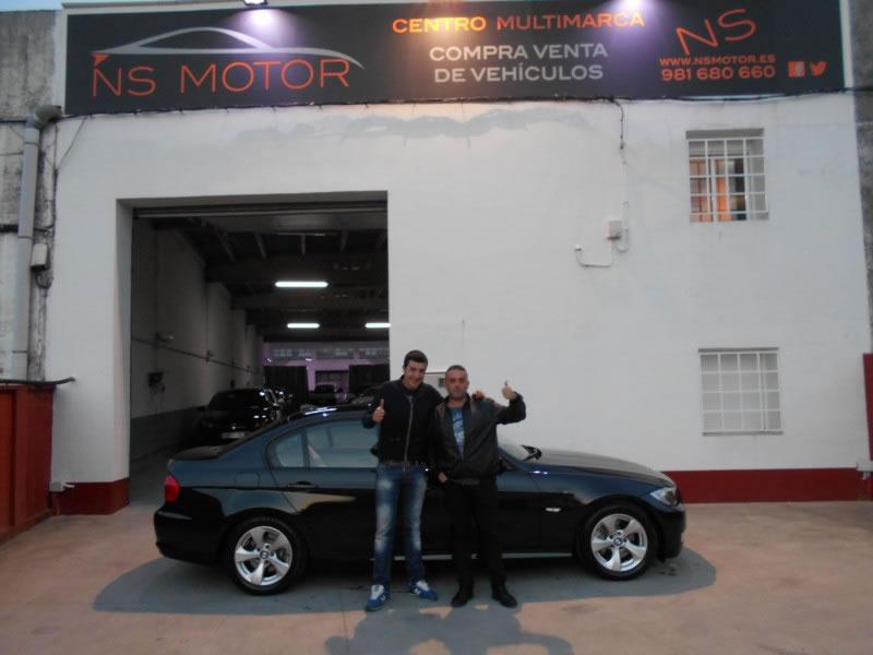 BMW SERIE 3 320D NAVI PIEL