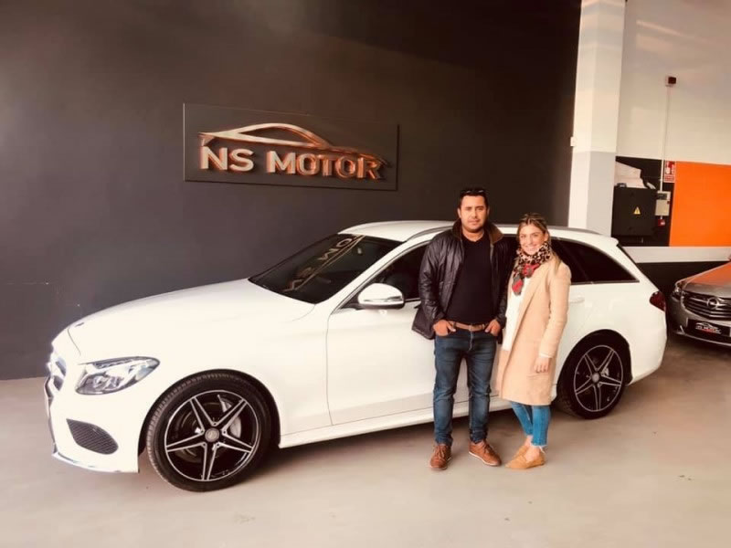 MERCEDES-BENZ CLASE C C220 CDI 170CV STATE AMG INT Y EXT 7G