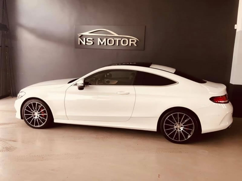 MERCEDES-BENZ CLASE C C250D 204CV COUPE AMG 9G FULL