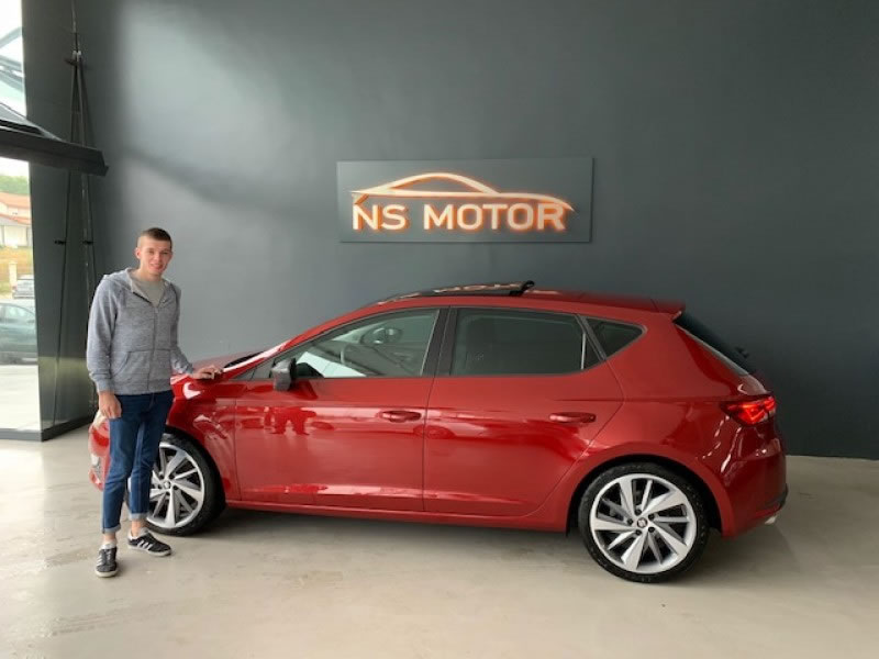 SEAT LEON 5F 2.0 TDI 184CV ST/SP FULL LED