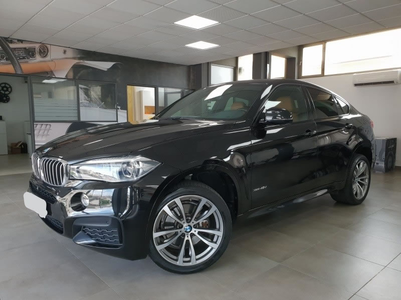 BMW X6 40D 313CV PACK M INT Y EXT STEPTRONIC DEPORTIVO