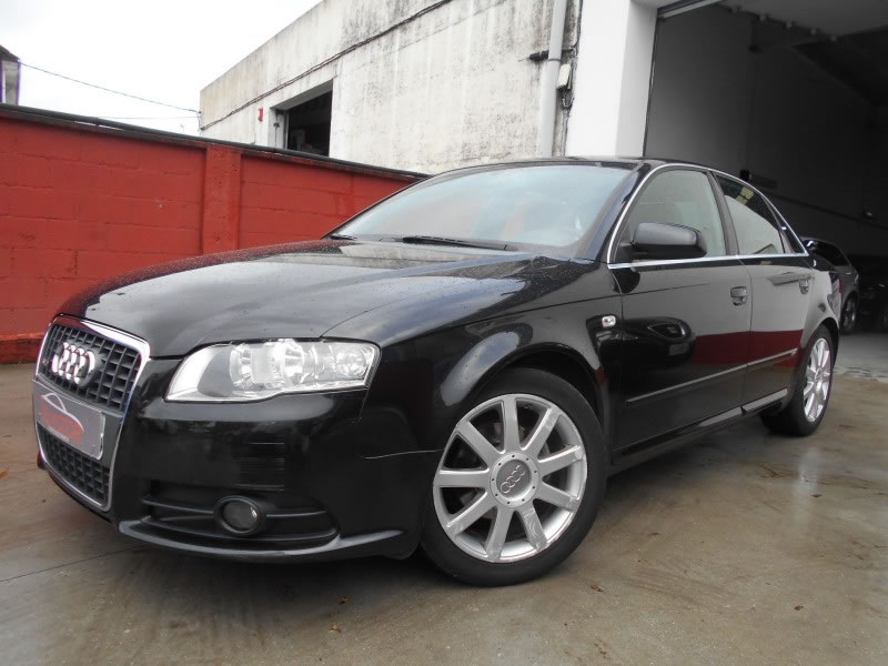 audi a4 2 0 tdi 140 sline en venta en ordes por ns motor. Black Bedroom Furniture Sets. Home Design Ideas