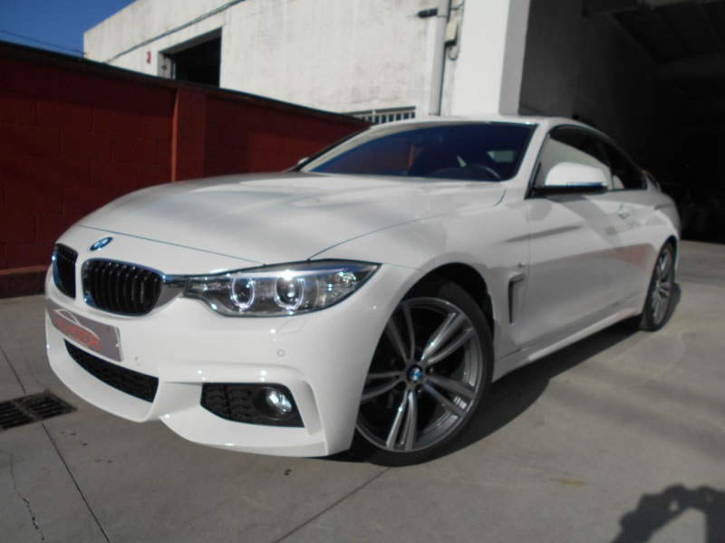 BMW SERIE 4 COUPE 420D PACK M