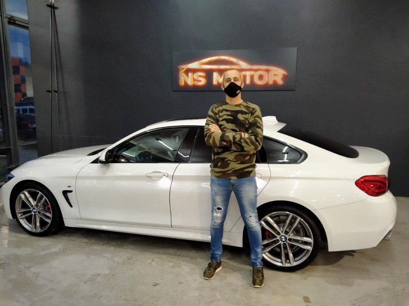 BMW SERIE 4 GRAND COUPE 420D PACK M SPORT INTERIOR Y EXTERIOR