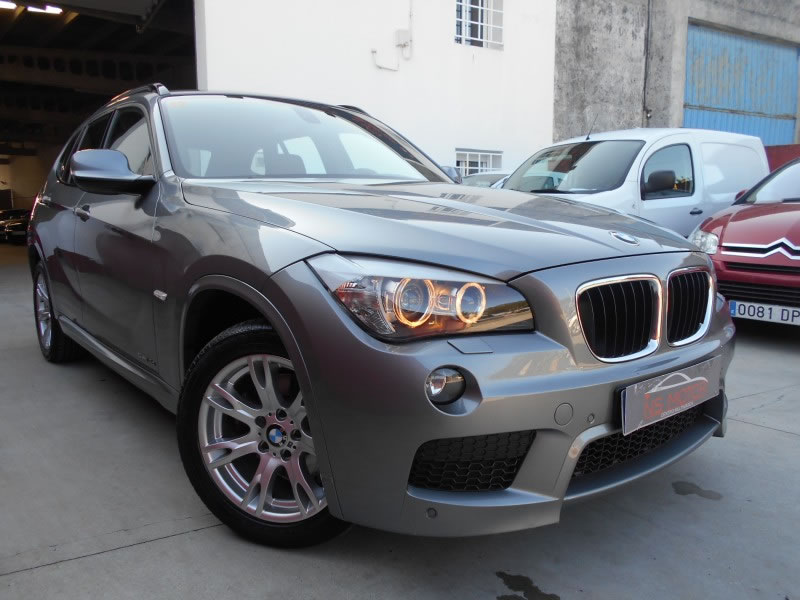 bmw x1 sdrive 18d pack m full en venta en ordes por ns motor. Black Bedroom Furniture Sets. Home Design Ideas