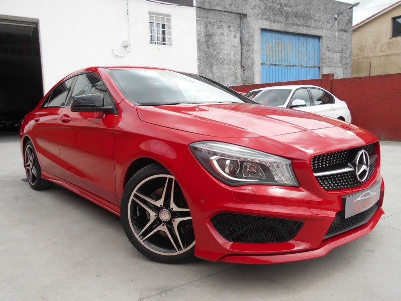 mercedes benz cla 220 cdi 7g pack amg full en venta en ordes por ns motor. Black Bedroom Furniture Sets. Home Design Ideas